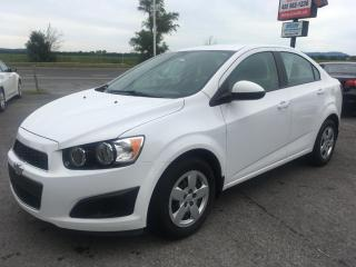 Used 2014 Chevrolet Sonic 52500km, automatique for sale in Carignan, QC