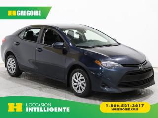 Used 2017 Toyota Corolla LE AC GR ELECT for sale in St-Léonard, QC
