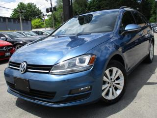 Used 2015 Volkswagen Golf TDI |SPORTWAGEN|COMFRTLINE|LEATHER|PANORAMIC for sale in Burlington, ON