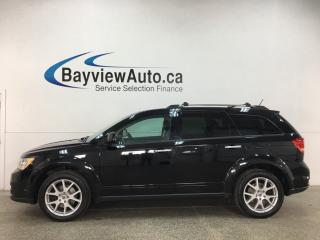 Used 2018 Dodge Journey GT - AWD! 7 PASS! LEATHER! NAV! SUNROOF! DVD! for sale in Belleville, ON