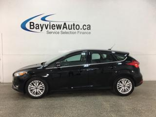 Used 2018 Ford Focus Titanium - AUTO! HTD LEATHER! SUNROOF! PWR GROUP! for sale in Belleville, ON