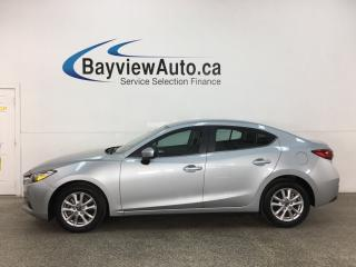 Used 2018 Mazda MAZDA3 GS - AUTO! ALLOYS! HTD SEATS! PWR GROUP! for sale in Belleville, ON