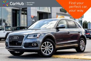 Used 2016 Audi Q5 2.0T Progressiv|Pano.Sunroof|GPS|Bluetooth|Backup.Cam|Voice.Command| for sale in Thornhill, ON