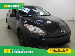Used 2012 Mazda MAZDA3 GX HACHBACK A/C GR for sale in St-Léonard, QC