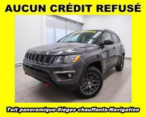 Used 2017 Jeep Compass TRAILHAWK 4X4 NAV SIÈGES CHAUFFANTS *TOIT PANO* for sale in Mirabel, QC