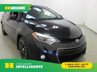 Used 2014 Toyota Corolla S for sale in St-Léonard, QC