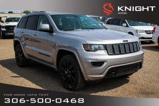 Used 2019 Jeep Grand Cherokee Altitude *LOANER* | Leather | Sunroof | Navigation | for sale in Swift Current, SK