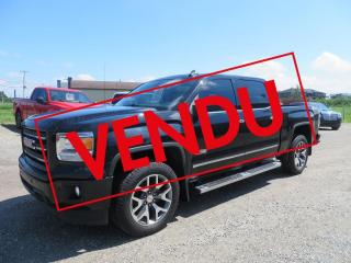 Used 2015 GMC Sierra 1500 4 RM, Cabine multiplaces 143,5 po, SLT for sale in Lévis, QC