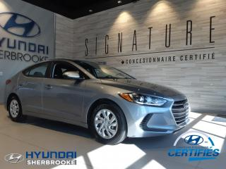 Used 2017 Hyundai Elantra LE+A/C+BANCS CHAUFF+BLUETOOTH for sale in Sherbrooke, QC