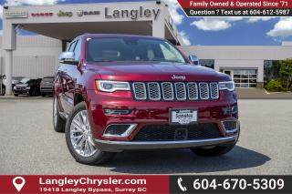 Used 2018 Jeep Grand Cherokee Summit - Navigation for sale in Surrey, BC