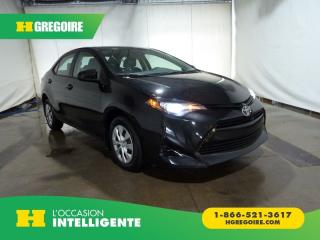 Used 2017 Toyota Corolla CE Bluetooth for sale in St-Léonard, QC