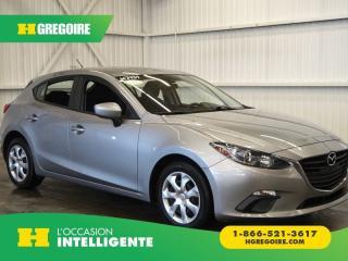 Used 2015 Mazda MAZDA3 GX A/C-GR for sale in St-Léonard, QC