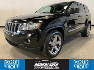 Used 2011 Jeep Grand Cherokee Laredo CLEAN CARFAX, HEATED LEATHER SEATS, SUNROOF, NAVIGATION for sale in Calgary, AB