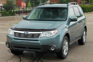 Used 2010 Subaru Forester 2.5 XT Limited Sunroof | Leather for sale in Waterloo, ON