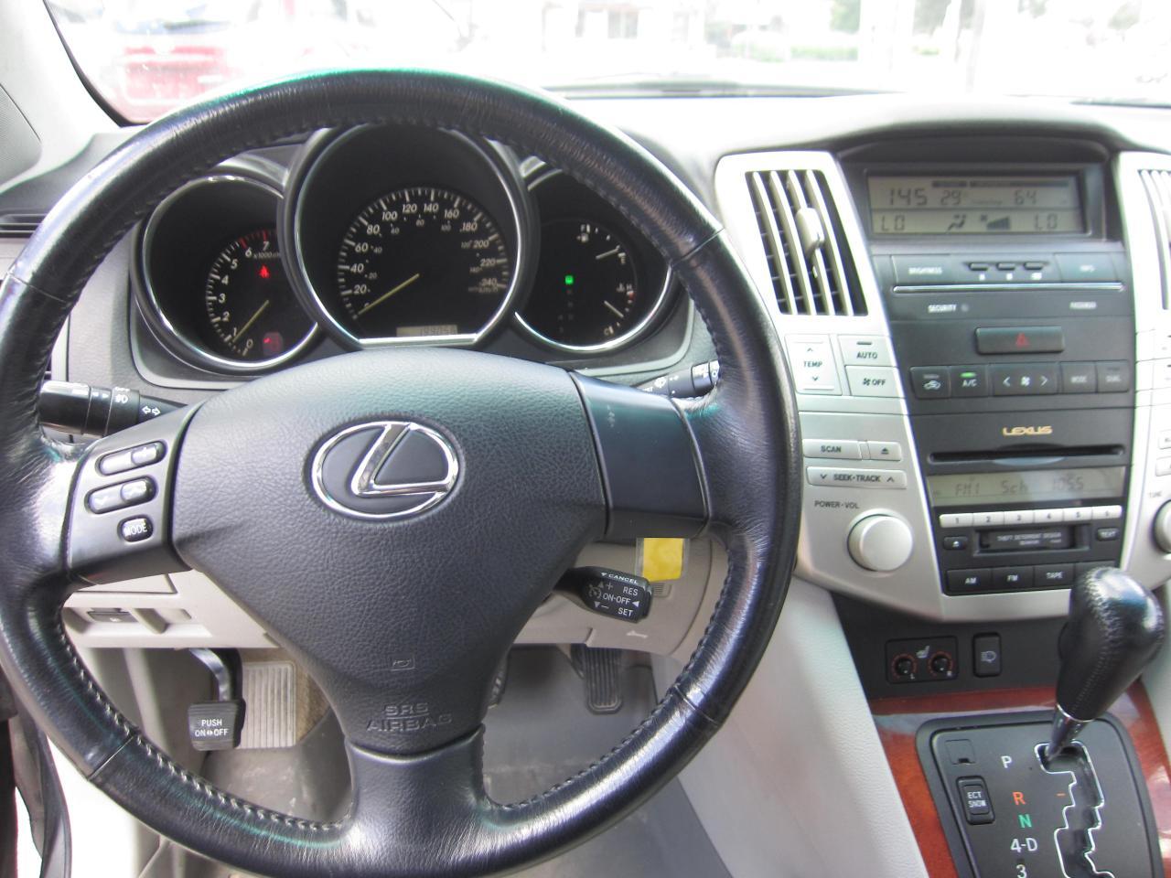 Used 2004 Lexus RX 330 $6,995 +HST +LIC FEE / CLEAN CARFAX