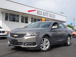 Used 2018 Chevrolet Impala LT Edition, V6, Sunroof, Leather, Low Kms for sale in Vancouver, BC