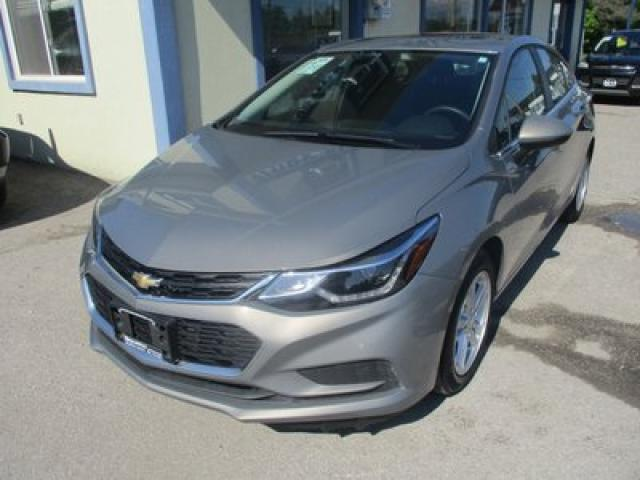 2018 Chevrolet Cruze LIKE NEW LT MODEL 5 PASSENGER 1.4L - TURBO.. FACTORY WARRANTY.. BOSE AUDIO.. BACK-UP CAMERA.. POWER SUNROOF.. BLUETOOTH SYSTEM..