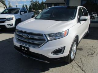 Used 2018 Ford Edge ALL-WHEEL DRIVE SEL MODEL 5 PASSENGER 2.0L - ECO-BOOST.. LEATHER.. HEATED SEATS.. NAVIGATION.. PANORAMIC SUNROOF.. BACK-UP CAMERA.. for sale in Bradford, ON