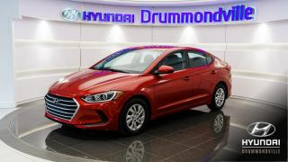 Used 2017 Hyundai Elantra LE + GARANTIE + CRUISE + BLUETOOTH + A/C for sale in Drummondville, QC