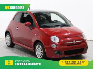 Used 2012 Fiat 500 SPORT A/C GR ELECT for sale in St-Léonard, QC