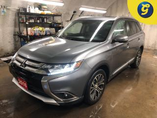Used 2016 Mitsubishi Outlander GT * V6 * AWC * Navigation * Power sunroof * Forward collision warning * Lane assist * Dual climate control * Passive entry * Leather interior * Auto for sale in Cambridge, ON
