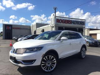 Used 2016 Lincoln MKX 2.7 AWD - NAVI - PANO ROOF - SELF PARKING for sale in Oakville, ON