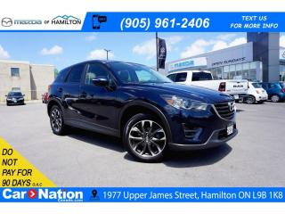 Used 2016 Mazda CX-5 GT | LEATHER | SUNROOF | NAV | REAR CAM for sale in Hamilton, ON