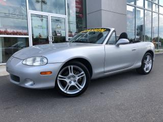 Used 2004 Mazda Miata MX-5 Gs Ac for sale in Ste-Agathe-des-Monts, QC