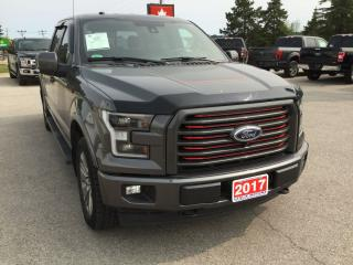 Used 2017 Ford F-150 Lariat | 4X4 | Accident Free | Navigation for sale in Harriston, ON