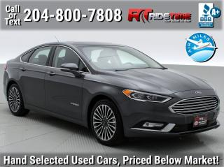 Used 2018 Ford Fusion Hybrid Titanium for sale in Winnipeg, MB