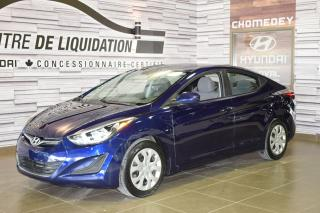Used 2014 Hyundai Elantra GL for sale in Laval, QC