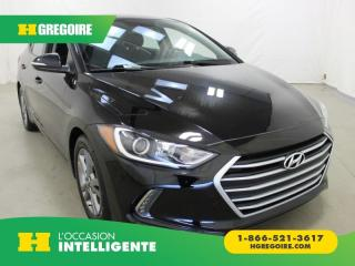 Used 2018 Hyundai Elantra GL A/C GR-ÉLECTRIQUE for sale in St-Léonard, QC