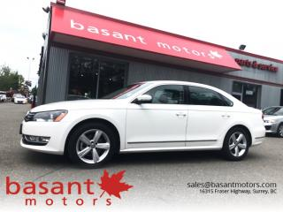 Used 2014 Volkswagen Passat TDI, Leather, Sunroof, Heated Seats!! for sale in Surrey, BC