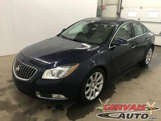 Used 2012 Buick Regal T Turbo GPS Cuir Toit Ouvrant MAGS for sale in Shawinigan, QC