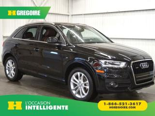 Used 2015 Audi Q3 QUATTRO CAMÉRA-TOIT for sale in St-Léonard, QC