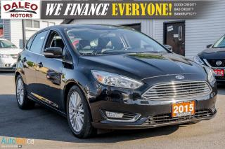 Used 2015 Ford Focus TITANIUM | BACK UP CAM | NAV | HEATED SEATS | for sale in Hamilton, ON