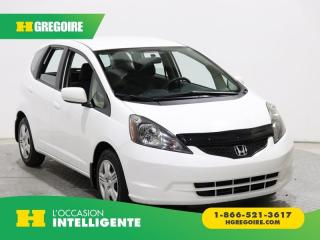 Used 2013 Honda Fit LX A/C GR ÉLECT for sale in St-Léonard, QC
