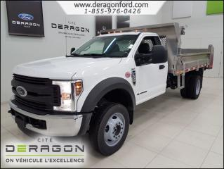 Used 2018 Ford F-550 XL DIESEL JOB BOOS BENNE BASCULANTE XL DIESEL JOB BOOS BENNE BASCULANTE for sale in Cowansville, QC