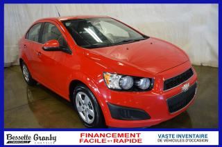 Used 2012 Chevrolet Sonic LT +Bas Km, Bluetooth, Aucun Carfax+ for sale in Cowansville, QC