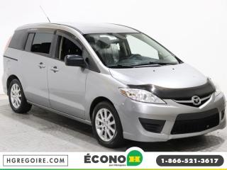 Used 2010 Mazda MAZDA5 GS A/C GR ELECT for sale in St-Léonard, QC