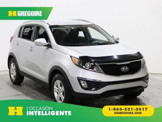 Used 2016 Kia Sportage LX AWD A/C GR ELECT for sale in St-Léonard, QC