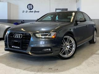Used 2014 Audi A4 S-LINE|6-SPEED|NAV|ACCIDENT-FREE|PARK ASSIST for sale in Oakville, ON