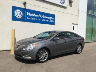 Used 2013 Hyundai Sonata LEATHER / SUNROOF / HEATED SEATS for sale in Edmonton, AB