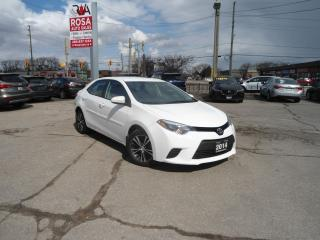 Used 2014 Toyota Corolla SE AUTO LOW KM NO ACCIDENT ALLOY PW PL A/C SAFETY for sale in Oakville, ON