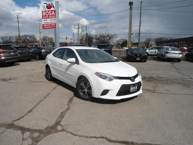 2014 Toyota Corolla SE AUTO LOW KM NO ACCIDENT ALLOY PW PL A/C SAFETY