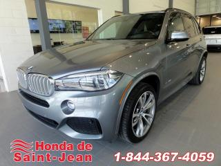 Used 2014 BMW X5 xDrive50i Navi Cuir Toit Pano Bang & Olu for sale in St-Jean-Sur-Richelieu, QC