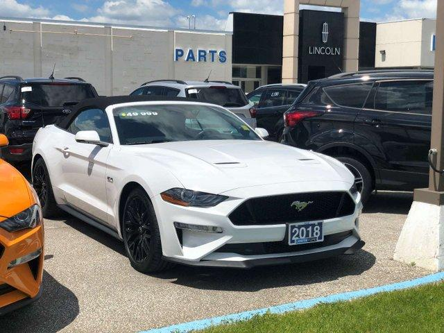 Used 2018 Ford Mustang GT Premium for Sale in Sarnia