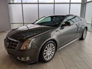 Used 2011 Cadillac CTS Coupe PREM for sale in Edmonton, AB
