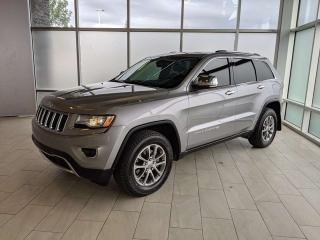 Used 2015 Jeep Grand Cherokee LIMITED/CLAIM FREE/4X4/NAVIGATION for sale in Edmonton, AB