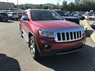 Used 2011 Jeep Grand Cherokee Overland V8 4x4 for sale in Sherbrooke, QC